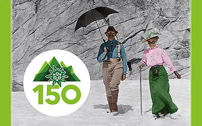 Taste the mountains – 150 years AVS.